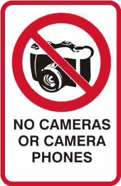 cameras are forbidden at swingers parties
